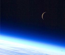 256px-Crescent_moon_from_space